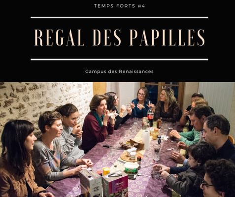 Eco gite Paris le Campus des Renaissances: regal des papilles