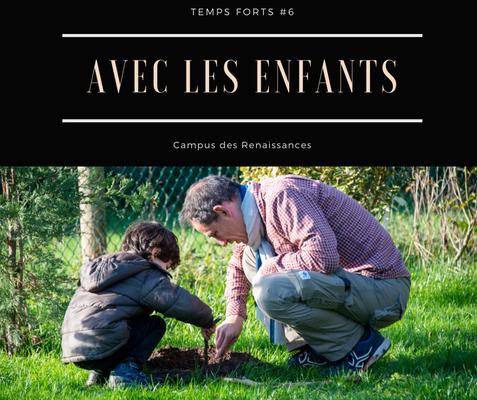Eco gite Paris le Campus des Renaissances  : avec les enfants