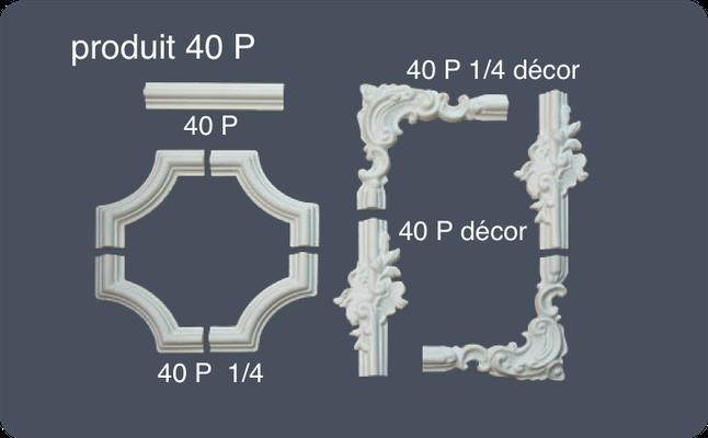 mur et plafond corniches rosaces moulures de plafond. Black Bedroom Furniture Sets. Home Design Ideas