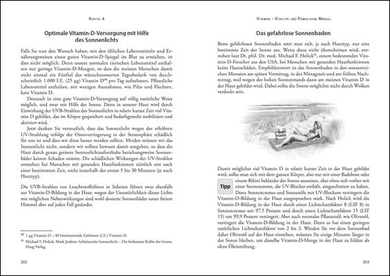 Die Nährstoff-Geheimnisse der Methusalem-Ernährung, Leseprobe: Seiten 202-203, © ANEWIS Verlag