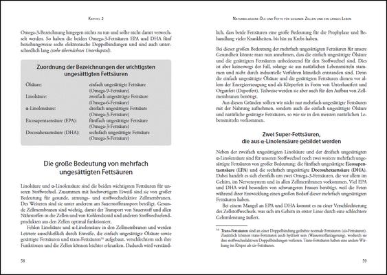 Die Nährstoff-Geheimnisse der Methusalem-Ernährung, Leseprobe: Seiten 58-59, © ANEWIS Verlag