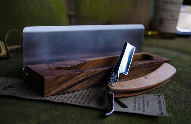 Rasiermesser | Holz / Edelstahl