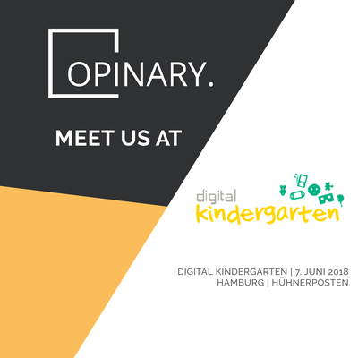 Opinary Event Marketing Digital Kindergarten
