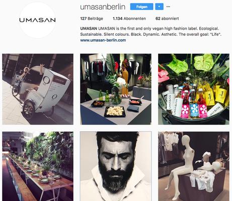 Instagram Profil UMASAN