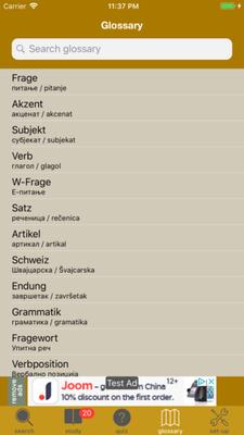 Worterbuch A1 Deutsch-SERBISCH-Englisch