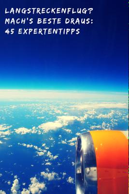 Fitness im Flugzeug - Das richtige essen und Trinken