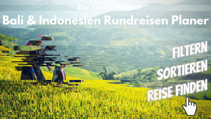 Indonesien Rundreise planen