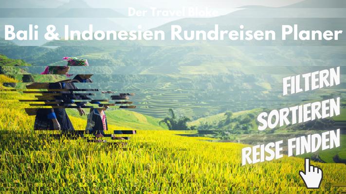 Indonesien gruppenreise planen