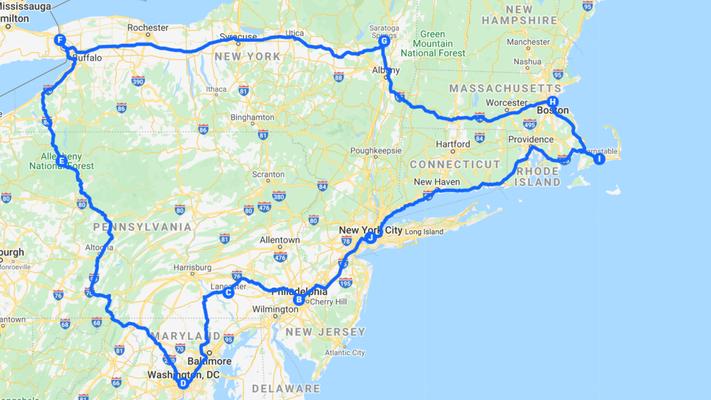USA Reisetipps Ostküste