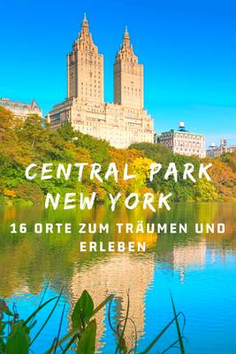 Central Park Sehenswürdigkeiten New York  The Lake