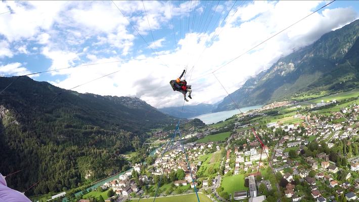 Action über Interlaken
