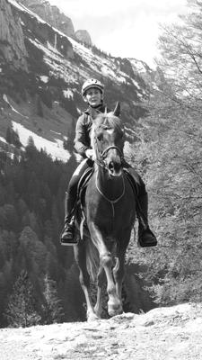 2019, Bango im Höhentrainingslager in Appenzell