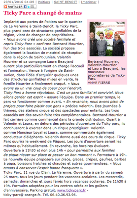 Journal Centre Presse