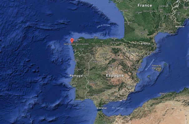 La côte de la Galice
