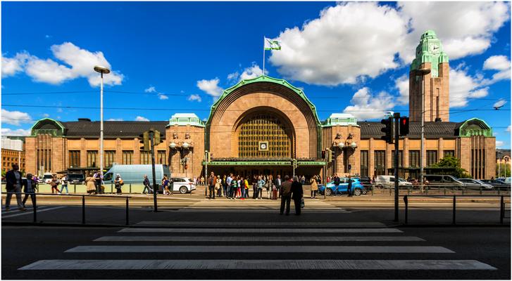 Hauptbahnhof in Helsinki