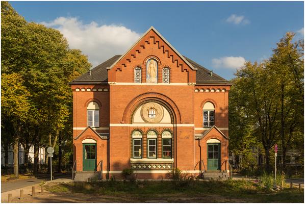 ehemalige Kirche beim AK Ochsenzoll