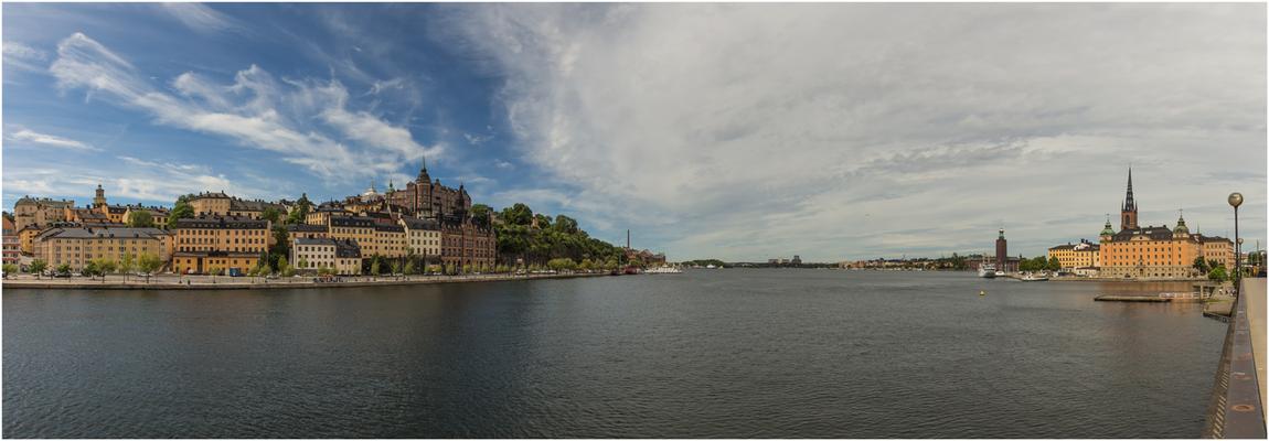 Panorama von Södermalm bis Riddarholmen
