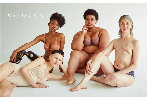 """Bodies"" for BLANC magazine Issue No.9 - photographer: renee bevan - stylist: bettina bati - hair: aviva leah fortuna - makeup: anie lamm-siu - all models repr. by @wespeak"