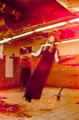 """falling from grace"" for FAQ magazine - photographer: andreas waldschuetz - creative director: adia trischler - makeup: anie lamm-siu"