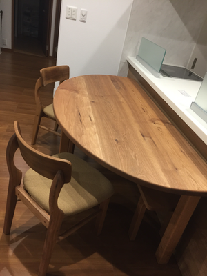 家具工房ウッドスケッチ 胡桃のテーブル ウッドスケッチ  WOODSKETCH