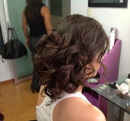 Peinado de Novia con ondas by Park Avenue salón