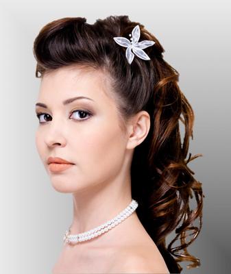 10 Peinados De Novia Tipo Cascada Maquillaje Y Peinado Para Novias