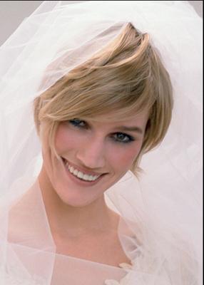 Peinado de novia para Cara Triángulo Invertido
