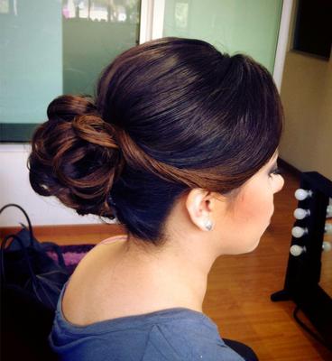 Peinado de Novia con torcido by Park Avenue salón