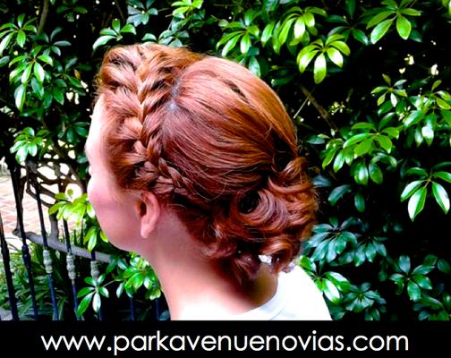 peinado para boda con trenza by park avenue salón
