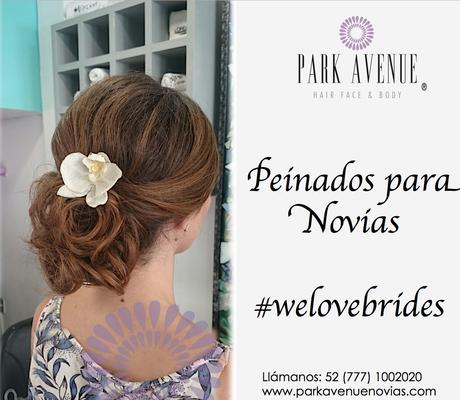 Peinado recojido para tu boda en  jardín de Cuernavaca