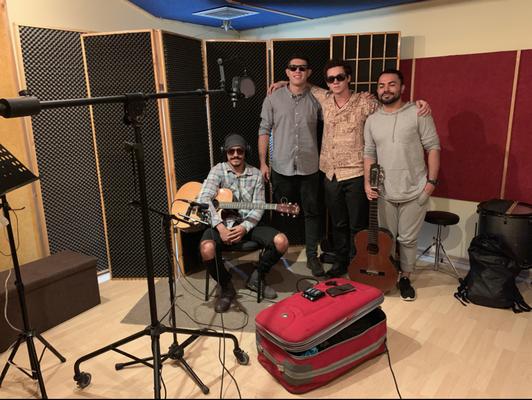 En grabación con Palu Santo