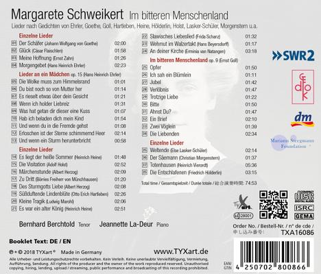 CD 2 2013/2018: Im bitteren Menschenland