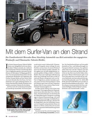 KielErLeben.de Süverkrüp Automobile, Online & Print, Mai 2017