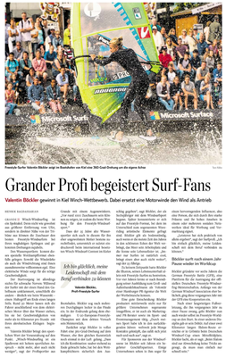Hamburger Abendblatt, Winch WM + 2017 Saison Preview, Print&Online, Juni 2017