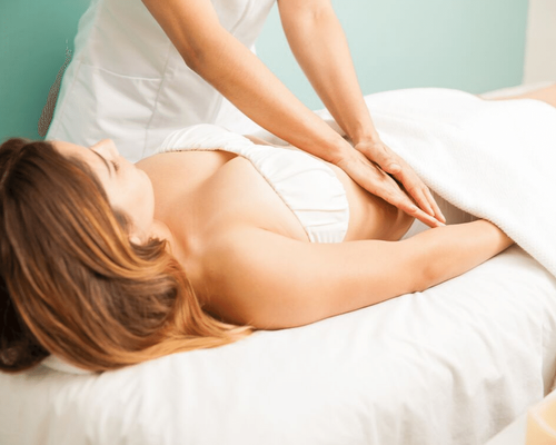 Massage abdominal Qi Nei Zang