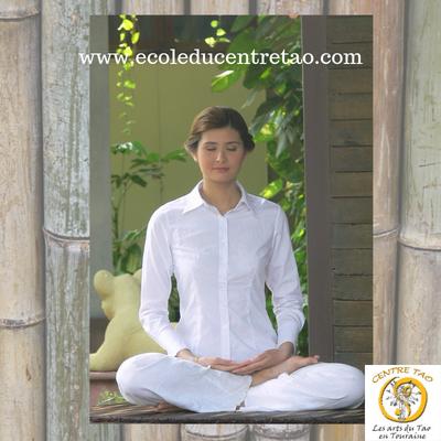 La méditation qi gong apporte la sérénité et la joie de vivre.