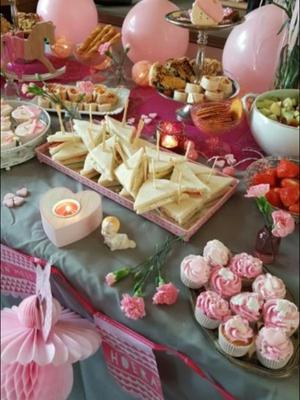 candy tafel roze, candybuffet roze, snoeptafel meisje