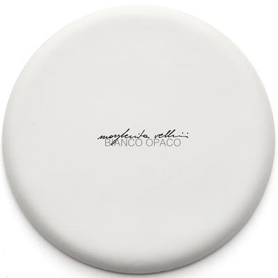 Color sample MATTE WHITE Margherita Vellini - Ceramic Lamps -  Home Lighting Design - Made in Italy
