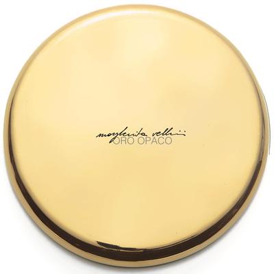 Color sample MATTE GOLD precious metal gold 15% Margherita Vellini - Ceramic Lamps -  Home Lighting Design - Made in Italy