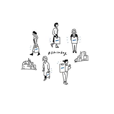 CHIZU MAGAZINE イラスト
