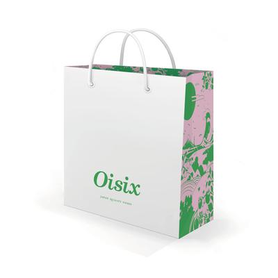 Oisix Hongkongギフトショッパー イラスト | デザイン:中尾悠 | オイシックス・ラ・大地