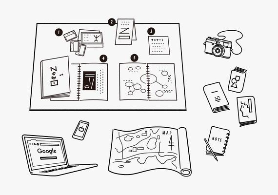 アートプロジェクトの現場で使える27の技術 説明イラスト | editrial design:合同会社チコルズ | TARL