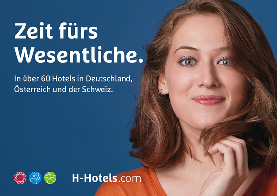 Kunde: H-Hotels AG / Agentur: Längengrad 9 / Fotograf: Albrecht Voss / Fashion-Styling: D.&A. Plattner / Hair&MakeUp: Ines Fiedler-Polzin / Model: Pretty Normal