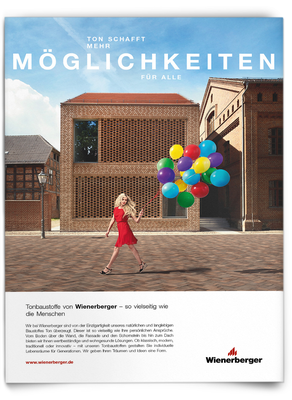 Kunde: Wienerberger / Agentur: RosenbauerSolbach / Fotograf: Martin Bühler / Fashion-Styling & Props: D.&A. Plattner