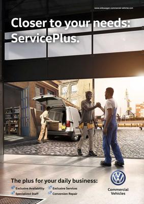 Kunde: Volkswagen Nutzfahrzeuge / Agentur: Dievision / Fotograf: Thomas Bach / CGI: Bildbotschaft / Fashion-Styling & Props: D.&A. Plattner / Models: Pretty Normal