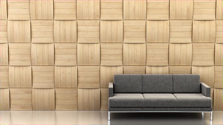 Die 3-D Wandgestaltung KUVIO ist exklusiv bei concept & partner erhältlich