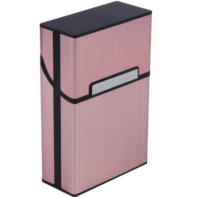 Zigarettenbox rosa mit individueller Lasergravur