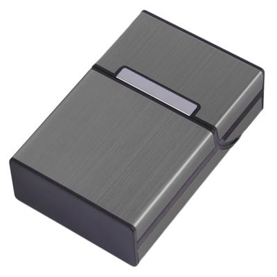 Zigarettenbox anthrazit mit individueller Lasergravur