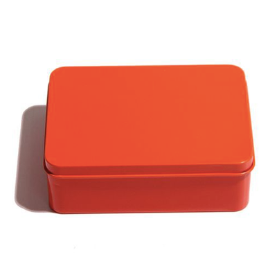 Geschenkbox orange mit persönlicher Lasergravur