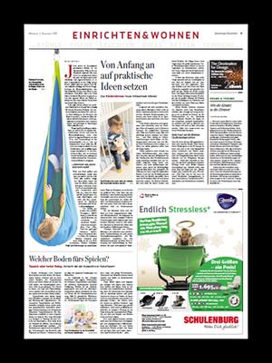 Einrichten & Wohnen, Sonderthema im Hamburger Abendblatt